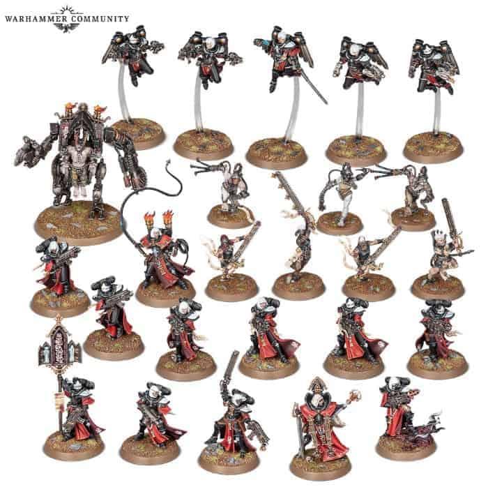 Sisters of Battle CANONESS Adepta Sororitas Limited Edition Warhammer 40K