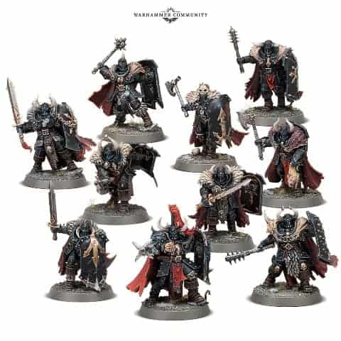 Warhammer Age of Sigmar Slaves to Darkness Chaos Knight Head 391