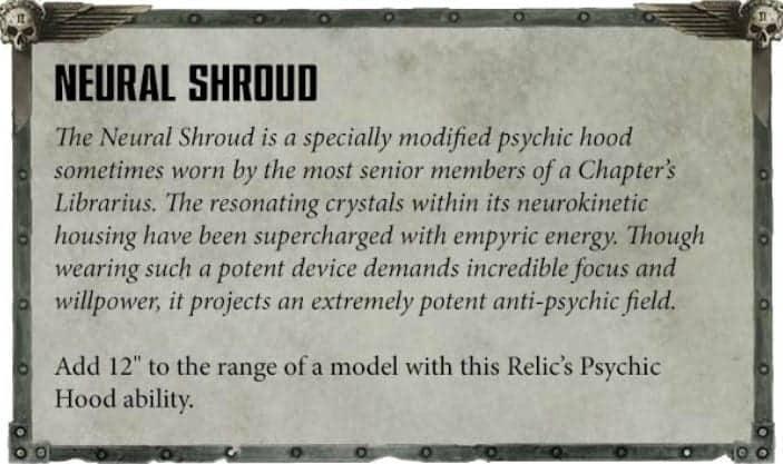 librarian neural shroud