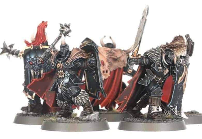 270 Warhammer Age of Sigmar Slaves to Darkness Chaos Marauder Shield